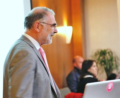 Yves de Montbron, conférence sur les réseaux