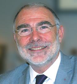 Yves de Montbron, conférencier optimiste