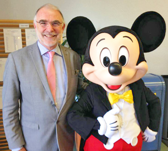 Chez un client prestigieux : Disneyland Paris