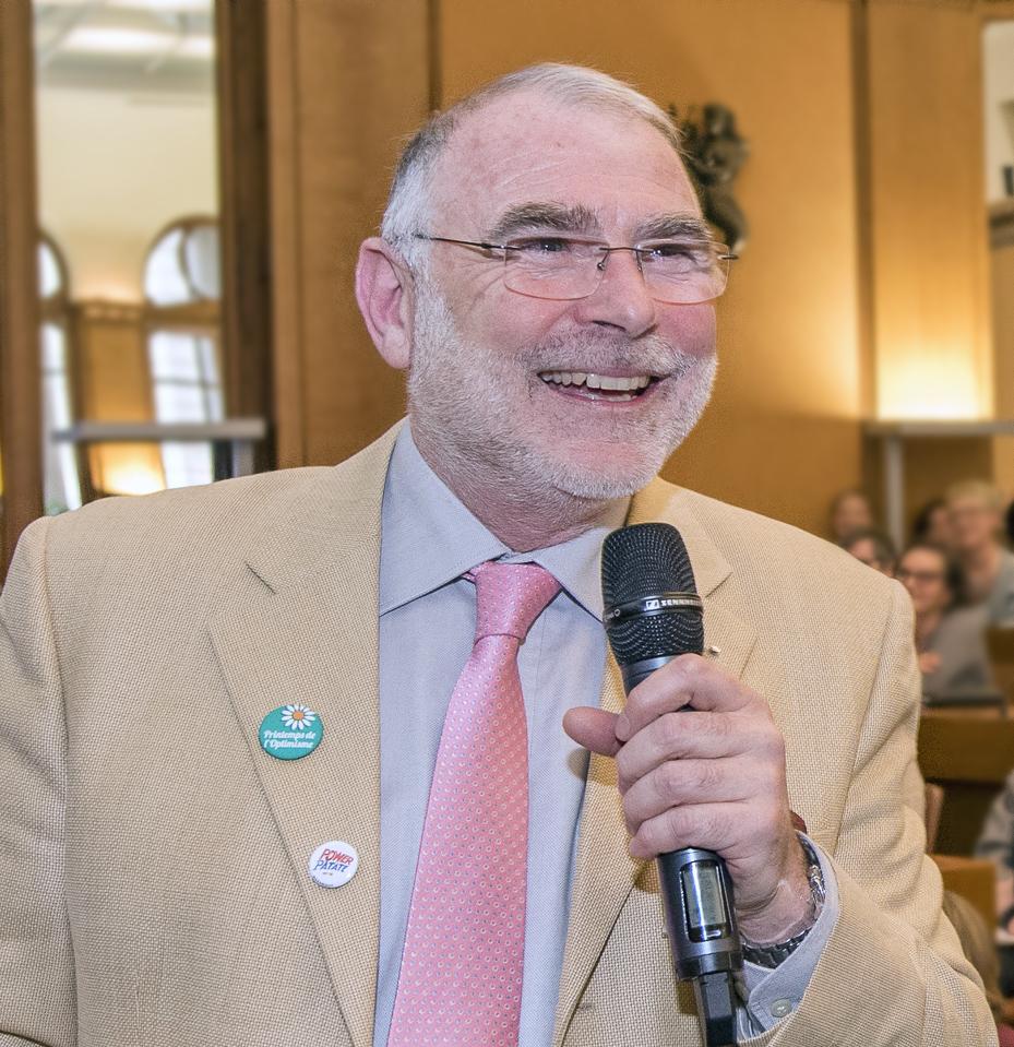 Yves de Montbron conférence optimisme